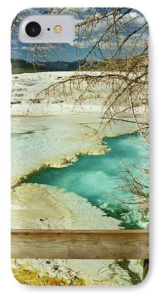 Norris Hot Spring IPhone Case by Greg Norrell