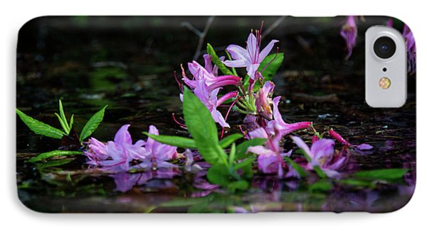 IPhone Case featuring the photograph Norris Lake Floral by Douglas Stucky