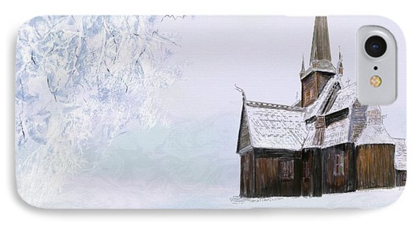 Norsk Kirke IPhone Case