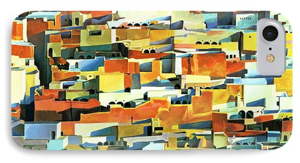 North African Townscape IPhone Case by Robert Tyndall