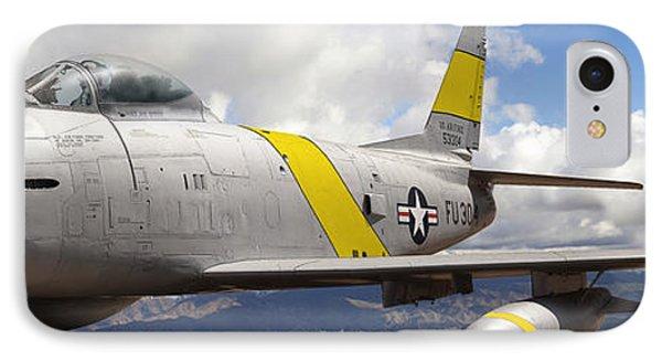 North American F-86 Sabre Phone Case by Larry McManus