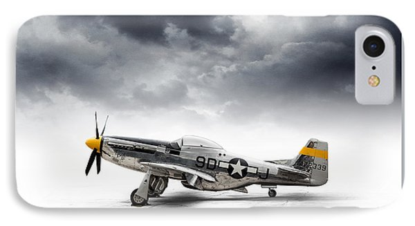 North American P-51 Mustang IPhone Case by Douglas Pittman