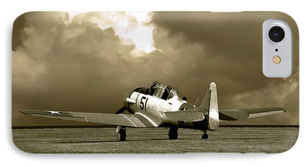 IPhone Case featuring the photograph North American T6 by Tim McCullough
