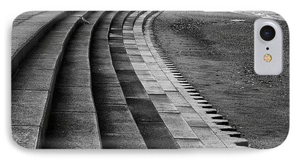 North Beach, Heacham, Norfolk, England IPhone Case by John Edwards