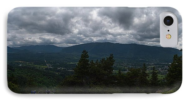 IPhone Case featuring the photograph North Bend Washington Panorama by Joshua House