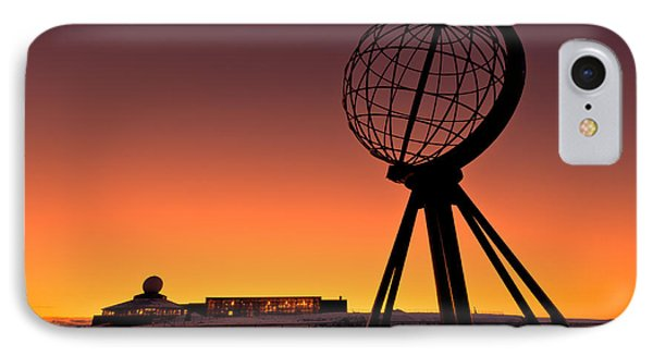 North Cape Norway At The Northernmost Point Of Europe Phone Case by Ulrich Schade