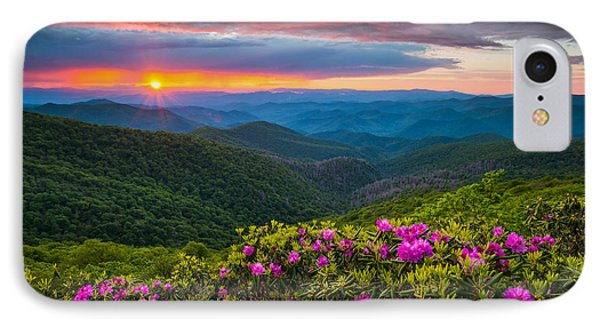 North Carolina Blue Ridge Parkway Landscape Craggy Gardens Nc IPhone Case
