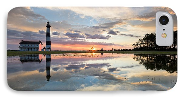 North Carolina Bodie Island Lighthouse Sunrise Phone Case by Mark VanDyke