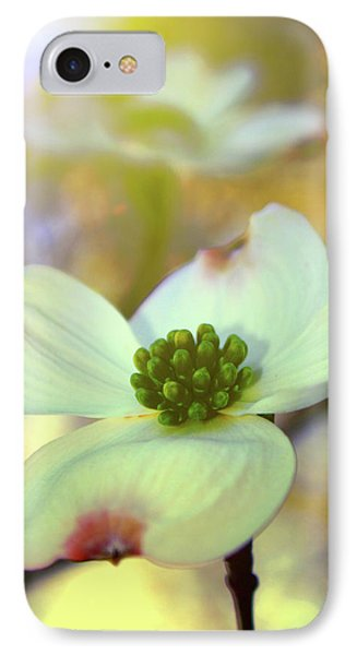 IPhone Case featuring the painting North Carolina Dogwood State Flower by Gray  Artus