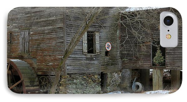 North Carolina Grist Mill IPhone Case by Benanne Stiens