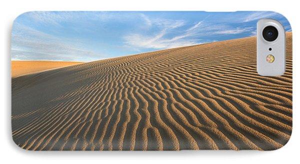 North Carolina Jockey's Ridge State Park Sand Dunes Phone Case by Mark VanDyke