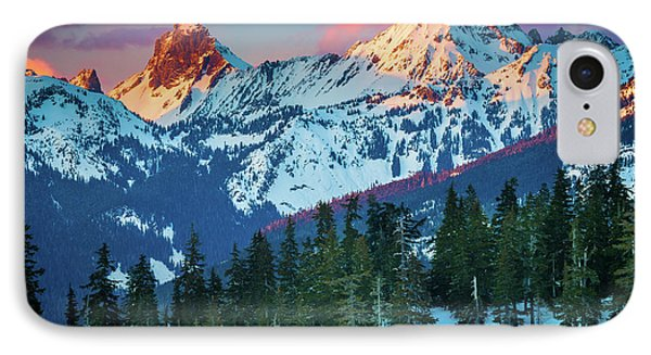 North Cascades Sunset IPhone Case