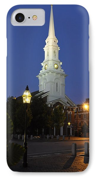 North Church Ncp IPhone Case by Jim Brage