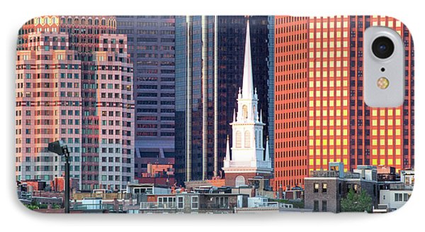 North Church Steeple IPhone Case by Susan Cole Kelly