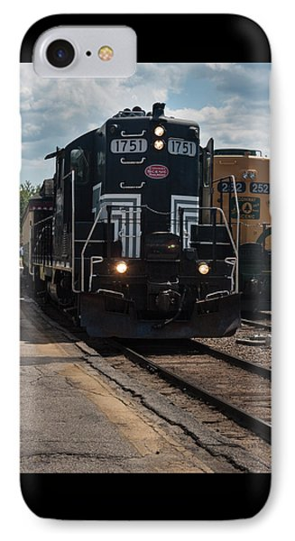 IPhone Case featuring the photograph Conway Scenic Railroad - New Hampshire by Suzanne Gaff