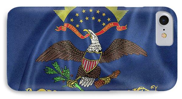 North Dakota Flag IPhone Case