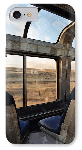 North Dakota Great Plains Observation Deck IPhone Case by Kyle Hanson