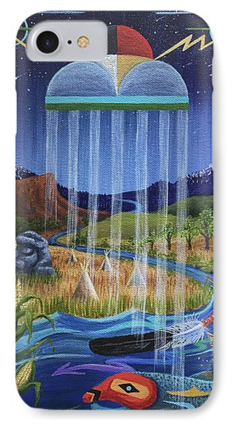 North Dakota Prayer Phone Case by Kristen Holmberg
