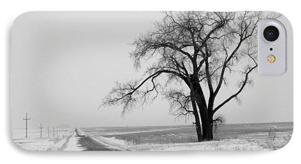 North Dakota Scenic Highway Phone Case by Bob Mintie