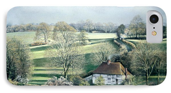 North Downs Hideaway IPhone Case by Rosemary Colyer