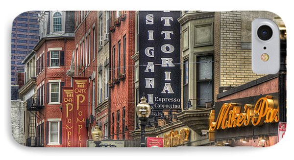 North End Charm 11x14 IPhone Case by Joann Vitali
