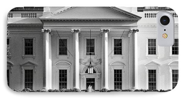north facade from pennsylvania avenue the white house Washington DC USA IPhone 7 Case by Joe Fox