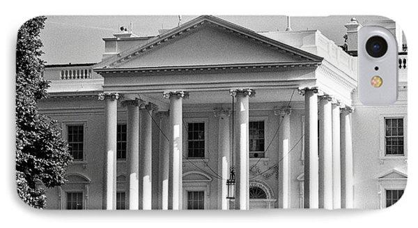 north facade of the White House Washington DC USA IPhone 7 Case by Joe Fox