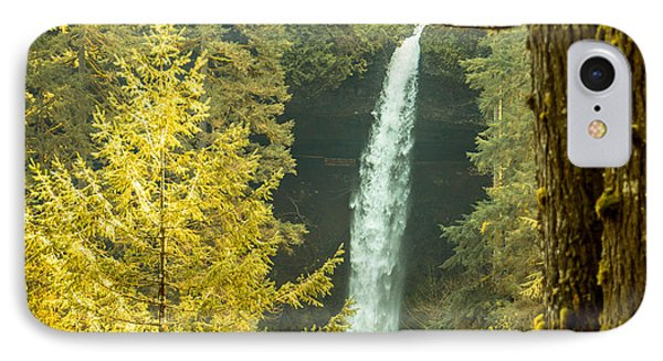 North Falls IPhone Case by Jerry Cahill