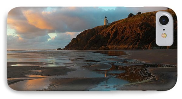 North Head Light Reflections IPhone Case by Mike Dawson