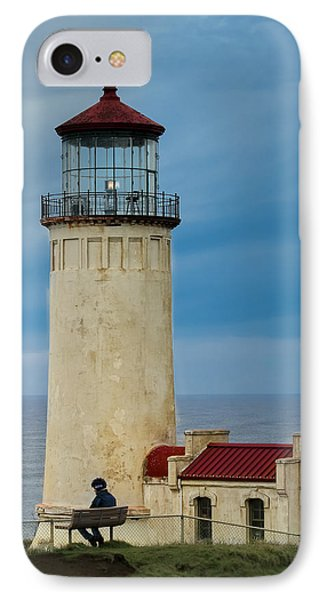 IPhone Case featuring the photograph North Head Lighthouse by E Faithe Lester
