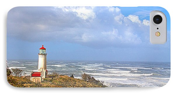 North Head Lighthouse Phone Case by Larry Keahey