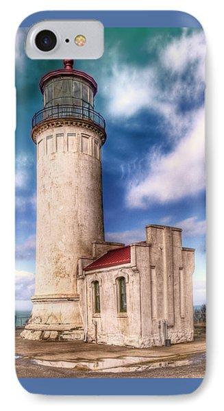 North Head Lighthouse - Washington Coast IPhone Case