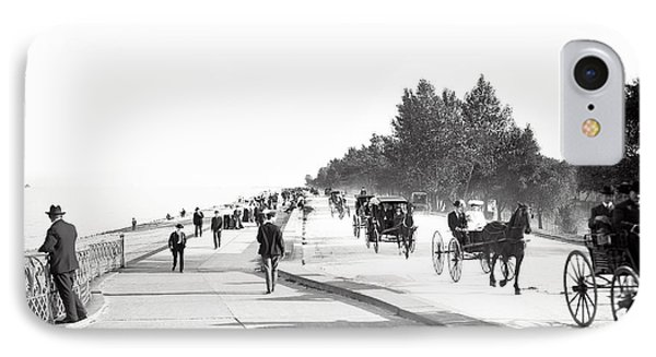 North Lake Shore Drive - Chicago 1905 IPhone Case by Daniel Hagerman