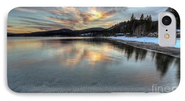 North Lake Tahoe Spring Sunset IPhone Case by Dustin K Ryan