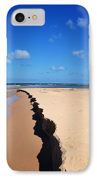 North Of Big Sable Point IPhone Case by Michelle Calkins