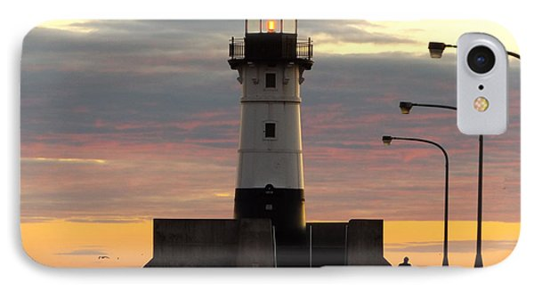 North Pier Lighthouse IPhone Case