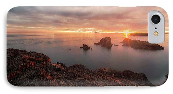 North Puget Sound Sunset IPhone Case