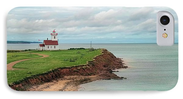 North Rustico Lighthouse IPhone Case by Martina Parsley