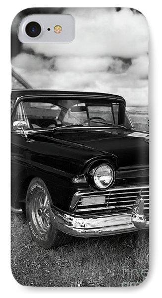 North Rustico Vintage Car Prince Edward Island IPhone Case by Edward Fielding