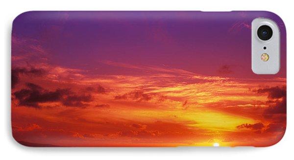 North Shore Sunset IPhone Case by Vince Cavataio - Printscapes
