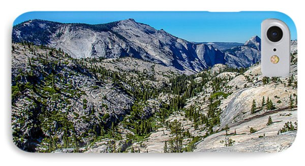 North Side Of Half Dome Valley Phone Case by Brian Williamson
