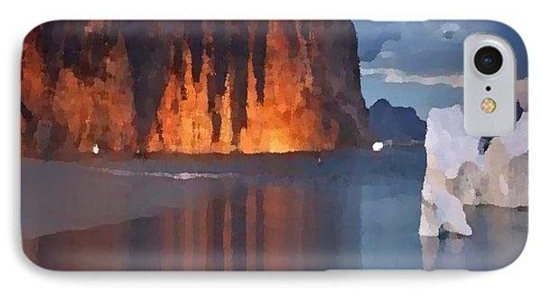 North Silence IPhone Case by Dr Loifer Vladimir