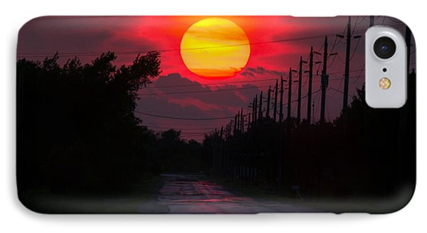 North Talbot Sunset IPhone Case by Cale Best