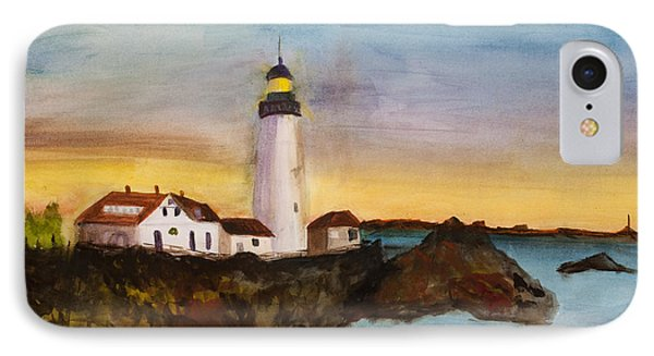 North Truro Light House Cape Cod IPhone Case by Donna Walsh