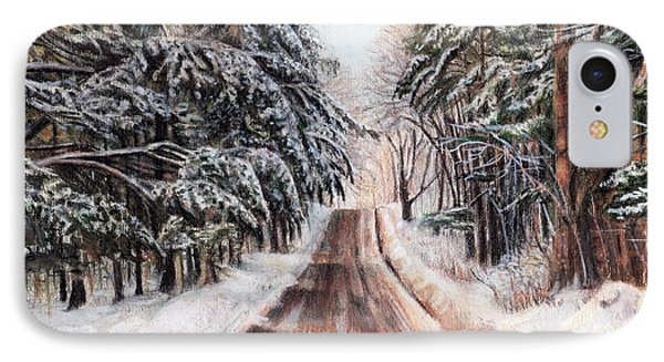 Northeast Winter IPhone Case by Shana Rowe Jackson