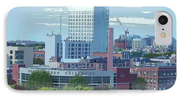 Northeastern University IPhone Case