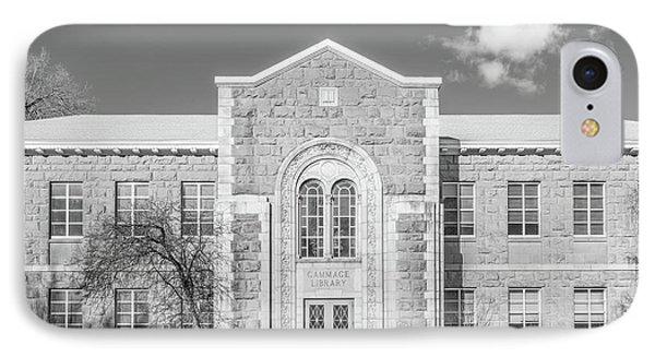 Northern Arizona University Gammage Library IPhone Case by University Icons