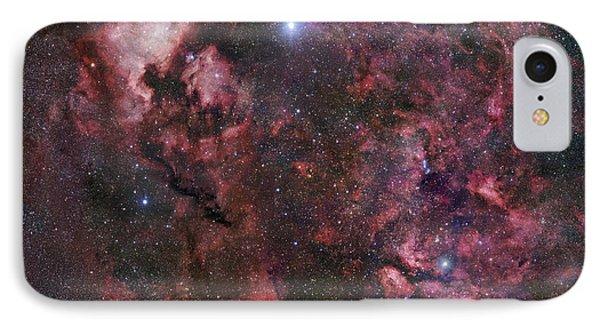 Northern Cygnus IPhone Case by Robert Gendler