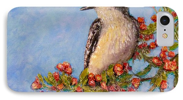IPhone Case featuring the painting Northern King Bird  by Joe Bergholm