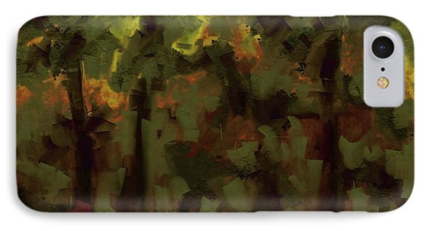 IPhone Case featuring the digital art Northern Landscape by Jim Vance